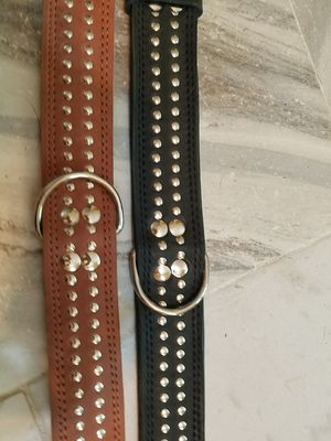 Hand made dog leather collars for Sale in Millersville, MD