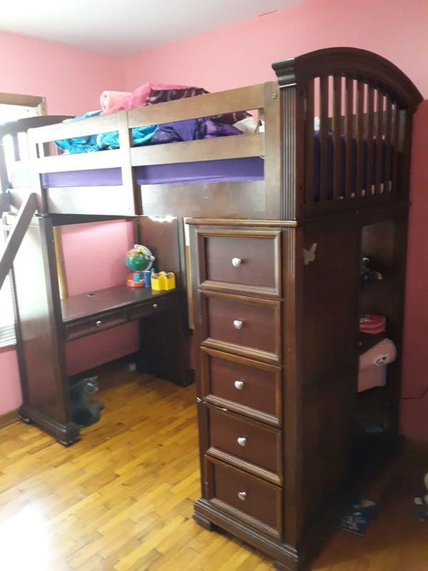 Pending Pick Up Loft Bunk Bed Solid Wood For Sale In Clinton Mo