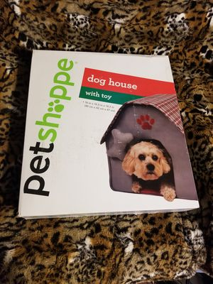 New Cute Pet Shoppe Red ( Dog house with toy ) for Sale in Gardena, CA