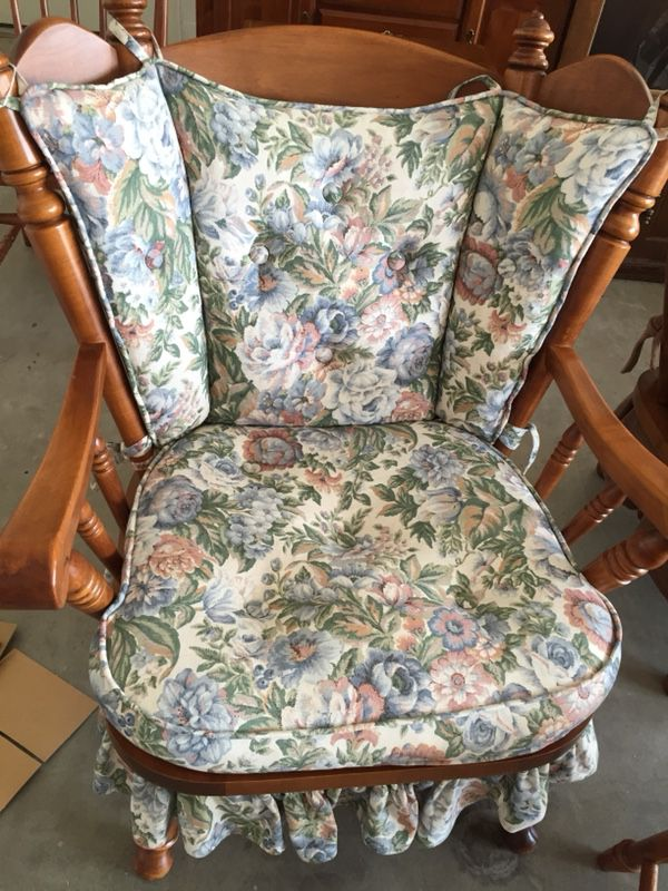 Tell City Maple Cricket Rocking Chairs