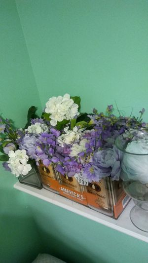 Assortment of purple and white flowers. for Sale in West Palm Beach, FL
