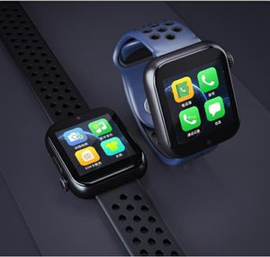 Photo Sports blue or black or white or red 2019 smart watch with hd camera, Bluetooth calling, phone heart rate monitor for iPhone & Android specs in pic