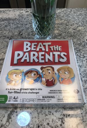 Beat the Parents Game New In Box for Sale in Scottsdale, AZ