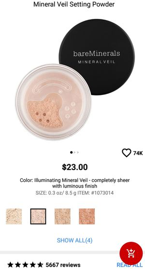 bareMinerals Illuminating Mineral Veil for Sale in US