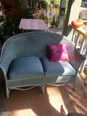 Antique Wicker Sofa for Sale in Tampa, FL