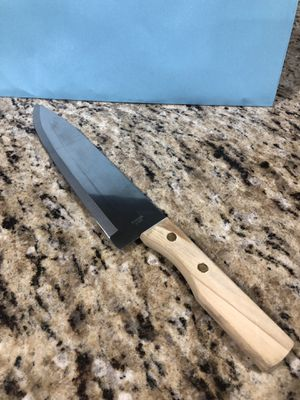 "8"" Eight Inch Stainless Steel Chefs Knife for Sale in Auburn, WA"