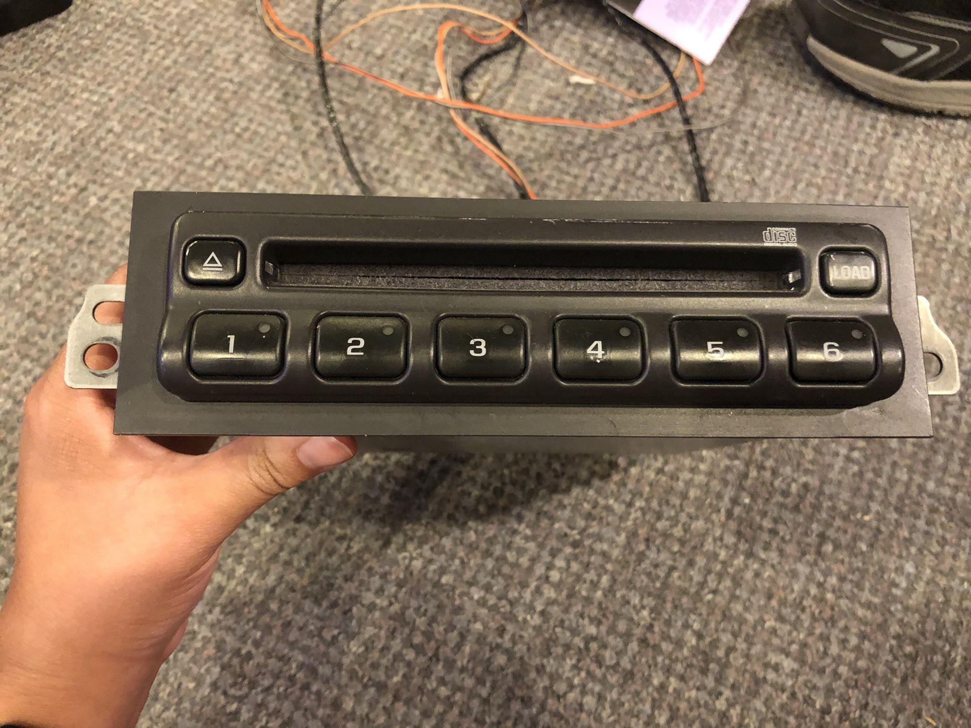 6 DISC CD Player Changer Panasonic 15110393