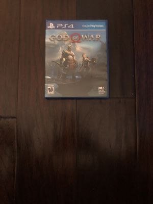 God of war ps4 for Sale in Dallas, TX