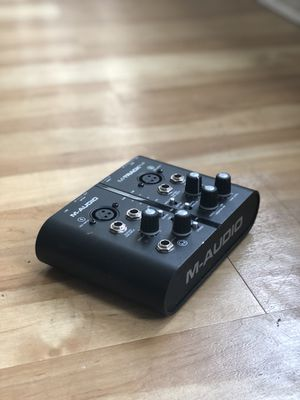 M-Audio M-Track Plus (Great Condition, Used In A Non-Smoking Studio) for Sale in Denver, CO