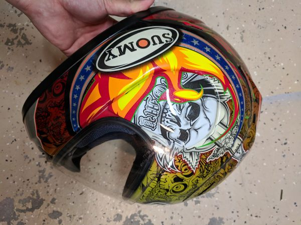 Used Suomy Spec 1r Bostrom Tattoo Xl Helmet For Sale In Houston Tx