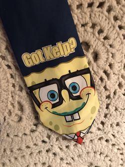 Sponge Bob Square Pants Nickelodeon Tie Thumbnail