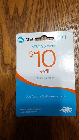 AT&T go phone refill for Sale in Millersville, MD