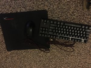 Gaming mouse and keyboard w/ mouse pad for Sale in Orlando, FL