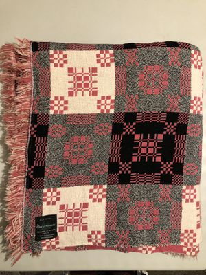 Vintage Wales Meirion All Wool King Size Reversible Blanket/Bedspread for Sale in Bunker Hill, WV