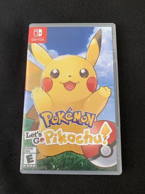 Pokemon Lets go Pikachu for Sale in Washington, DC