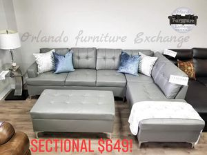 New and Used Sectional couch for Sale in Deltona, FL - OfferUp