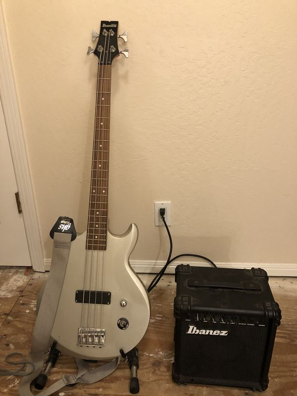 23fa1b6429a Ibanez GIO bass Guitar plus amp! for Sale in Pacifica, CA - OfferUp