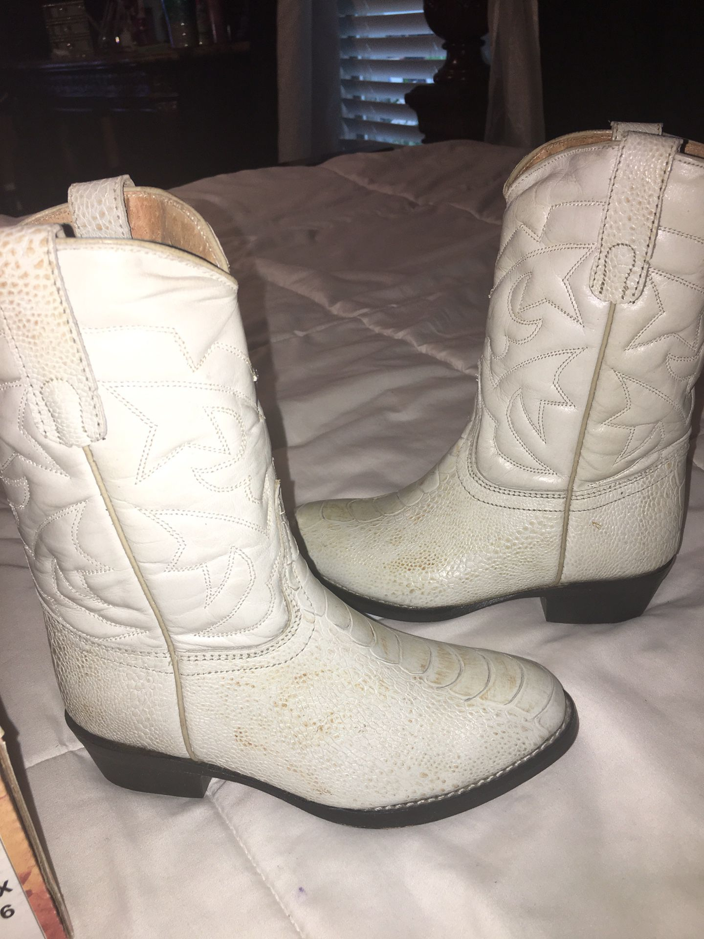 Cowboy boots 12 1/2 for boys