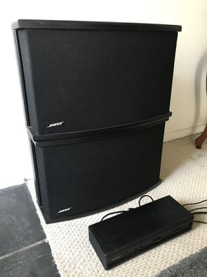 BOSE 901 Series VI speakers + Equalizer for Sale in Los Angeles, CA