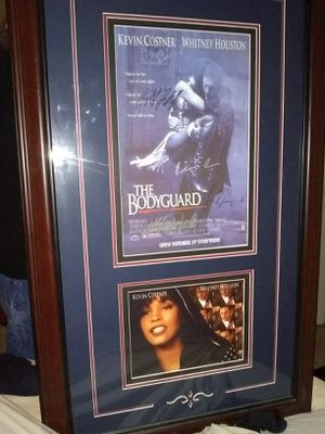 Autgographed Bodyguard Poster FRAMED for Sale in Temple Hills, MD