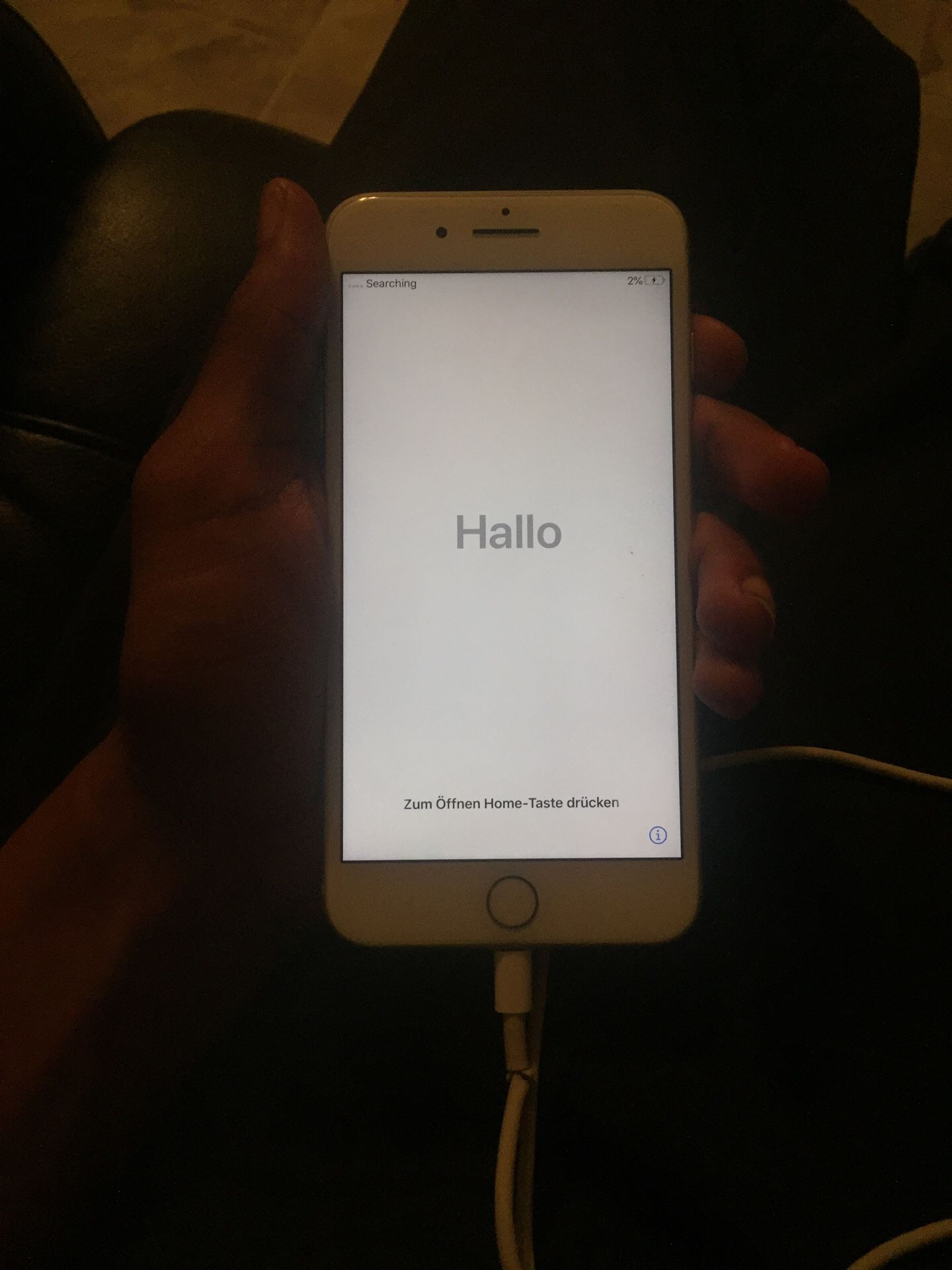 iPhone 8 Plus/ white version/256gs completely hard reseted
