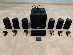 Polk Audio RM8 speakers with Polk PSW111 Subwoofer for Sale in Germantown, MD
