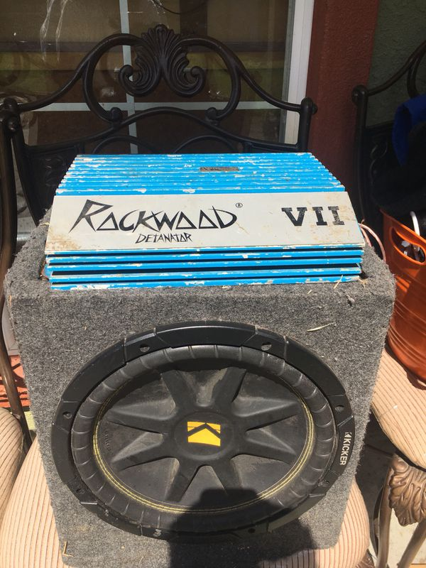 "Kicker speaker 12"" for Sale in Concord, CA - OfferUp"