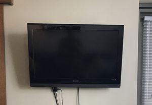 """32"""" SHARP Flatscreen TV w/ Mount for Sale in Seattle, WA"""