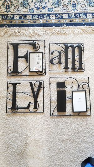 Family picture frames for Sale in Gaithersburg, MD