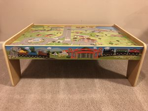 Kids car and train table for Sale in Damascus, MD