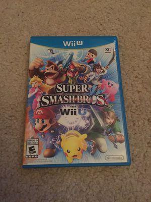 Super Smash Bros Nintendo Wii U Game for Sale in Littleton, CO