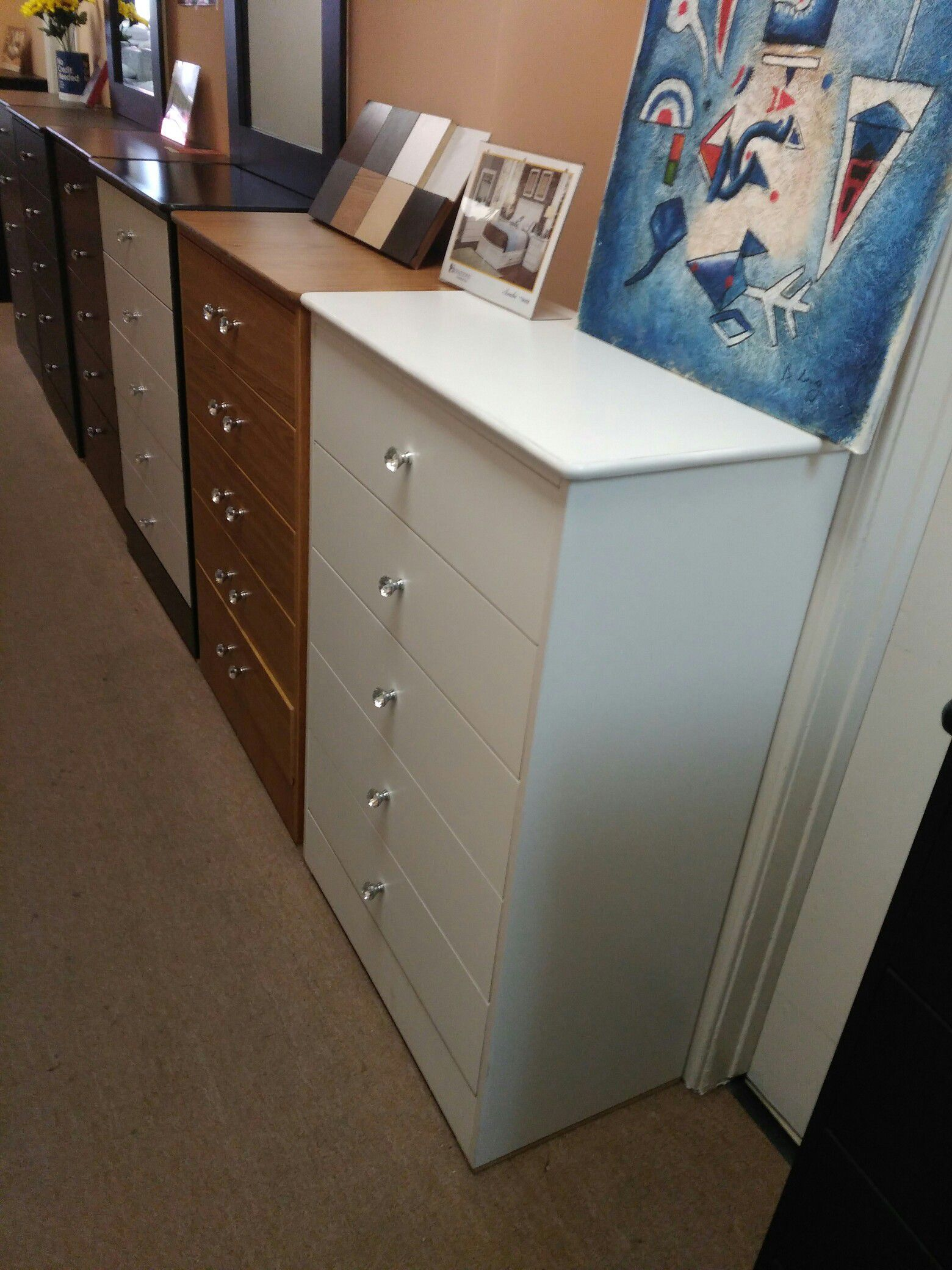 Compressed Wood Dresser