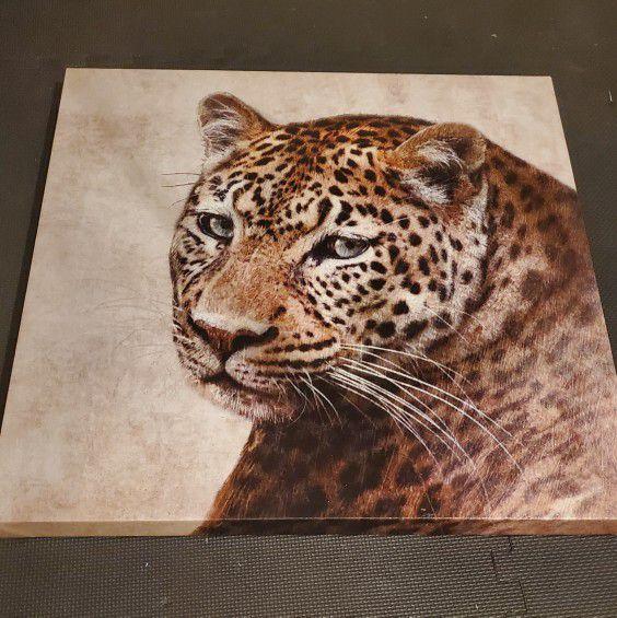 "Leopard Canvas Print (30""x30"")"