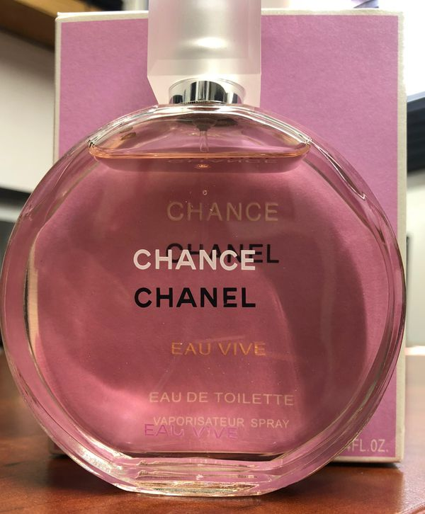 New Chanel Chance Vive Perfume 34oz No Box For Sale In Los Angeles