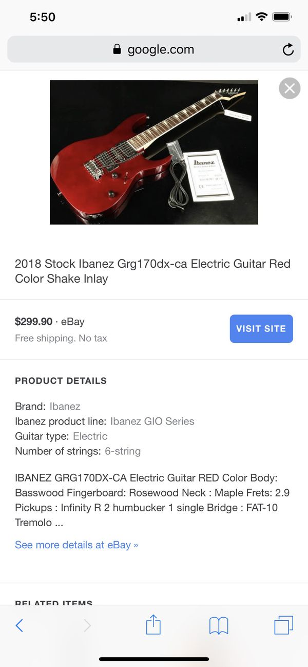 New and Used Electric guitar for Sale in Denver, CO - OfferUp
