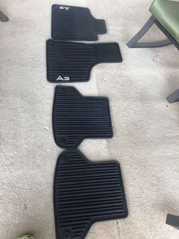 Audi A3 All Weather Floor Mats Plus Regular Floor Mats For Sale In