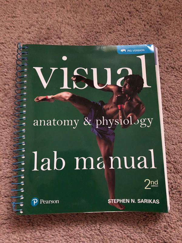 Visual Anatomy & Physiology Lab manual Pearson 2nd edition for Sale ...