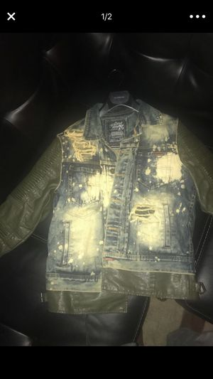 Diesel jean jacket for Sale in Baltimore, MD