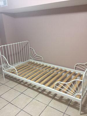 IKEA Twin Bed (White)/Mattress for Sale in Washington, DC
