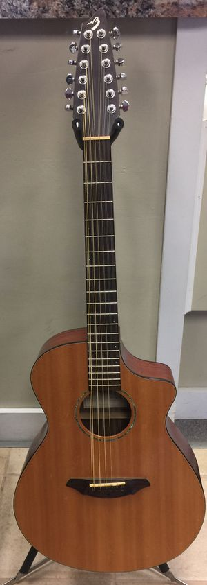 Breedlove 12 String Acoustic Guitar AC250/SM-12 w/ Hard Case for Sale in Westminster, MD