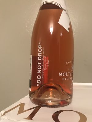 "Moet & Chandon x Off-White ""Do Not Drop"" Virgil Abloh Limited Edition for Sale in New York, NY"