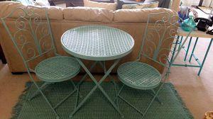 Indoor/outdoor metal table for Sale in Alexandria, VA