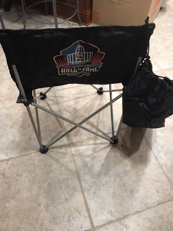 New Folding Outdoor Portable Chair Hall Of Fame