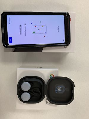 Google Pixel 2XL 128 GB Unlocked and Pixel Buds! for Sale in Kissimmee, FL