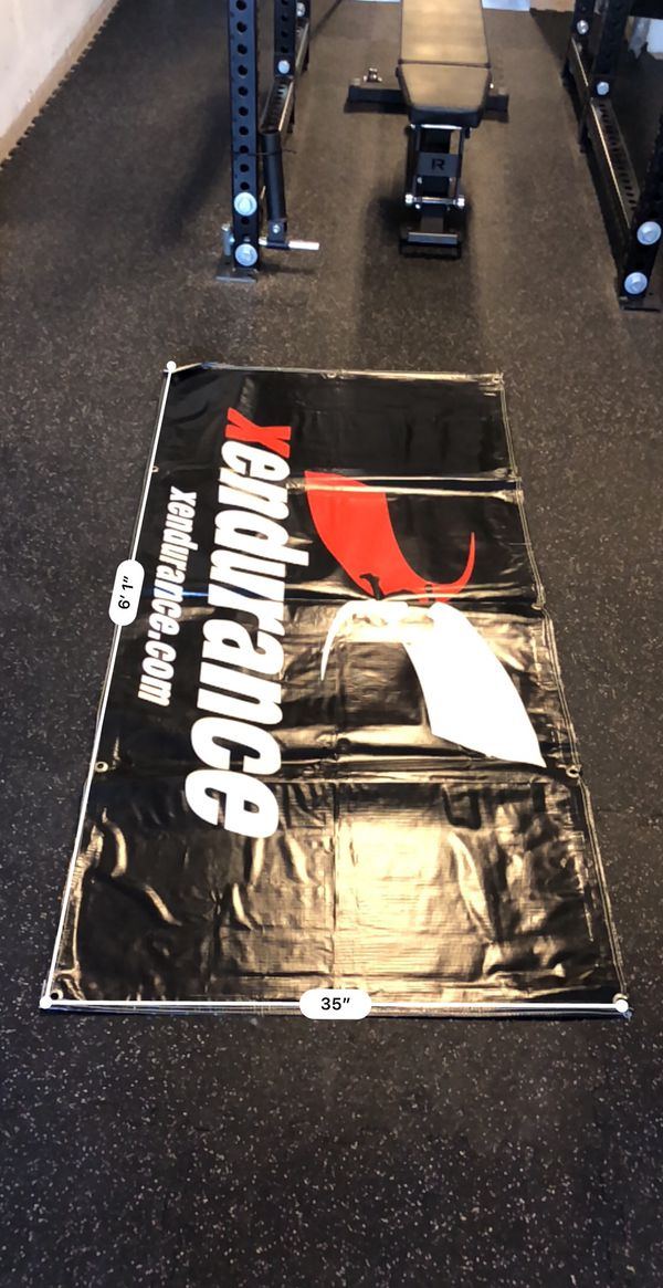 Crossfit heavy duty large gym banners for sale in murrieta ca