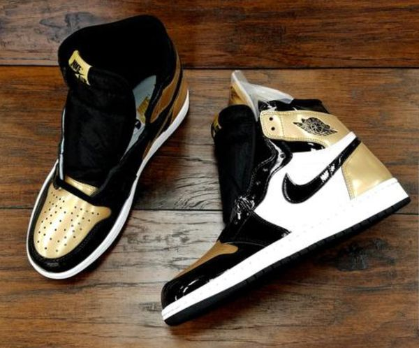 96befd095e0b1e gold toe 1s Gold Toe Jordan 1 s (Clothing   Shoes) in Bowie
