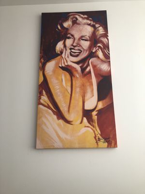 marilyn monroe painting for Sale in Boston, MA