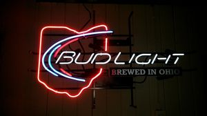 Bud light neon sign for Sale in Lancaster, OH