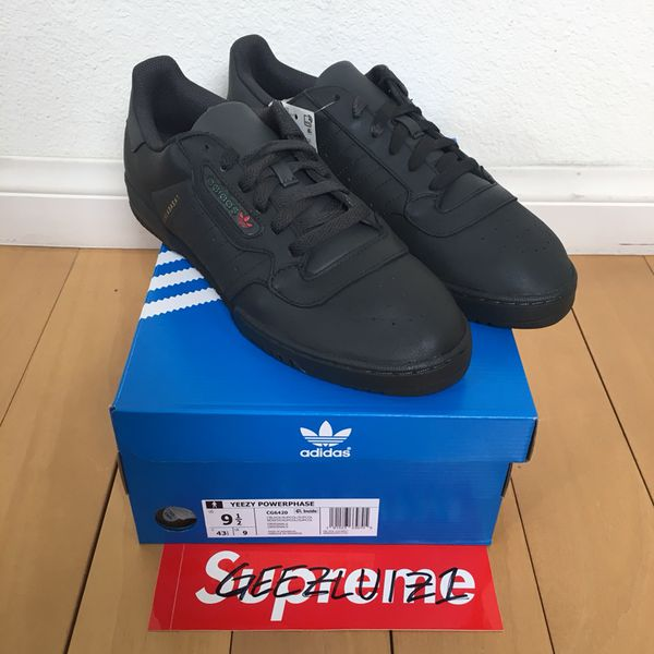 cda9f110f Yeezy Powerphase Black Calabasas size 9.5 100% Authentic for Sale in ...