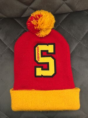 45502b4d888 Supreme red and yellow beanie for Sale in Citrus Heights